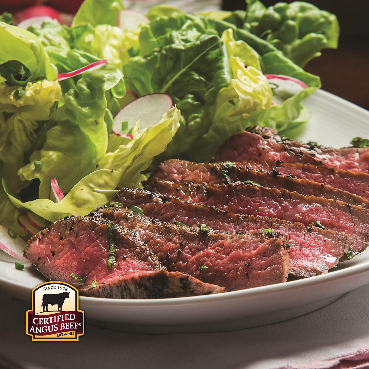 Certified Angus Beef® Boneless Center Cut Top Sirloin Steak $5.99/lb